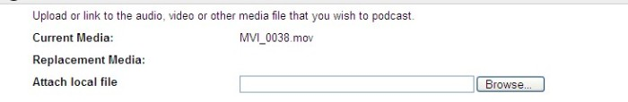 select file to upload