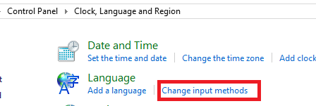 how to change input language in word 2010